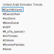 Wamli trends in the UAE!