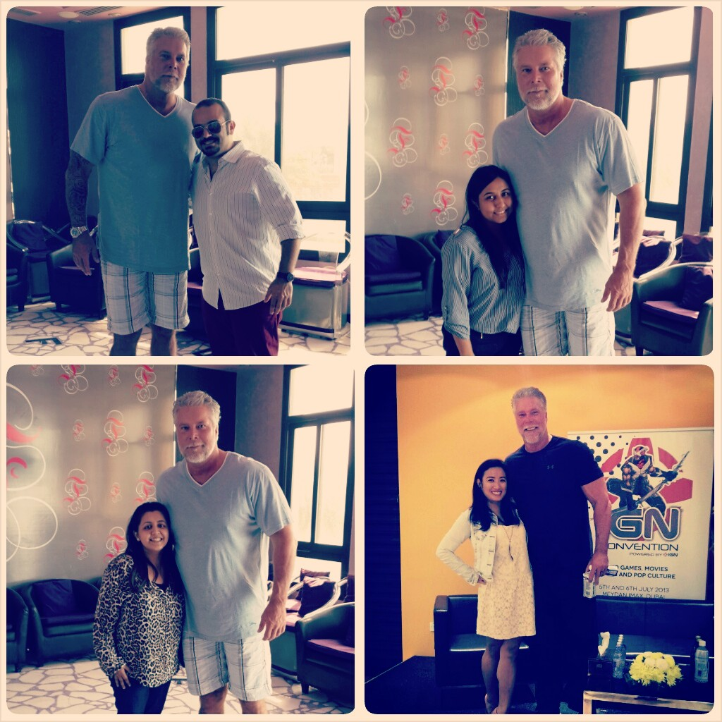 PAZ Team with Kevin Nash